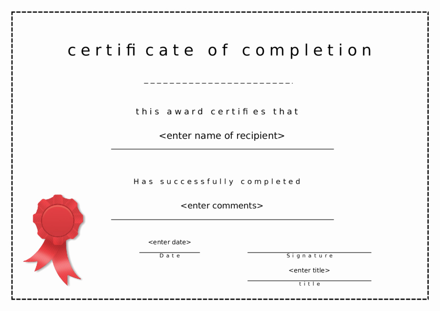 Certificate Of Course Completion Template Unique 2018 Print Release form Fillable Printable Pdf & forms