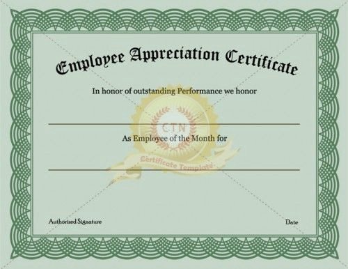 Certificate Of Excellence for Employee Beautiful 21 Best Images About Appreciation Certificate On Pinterest