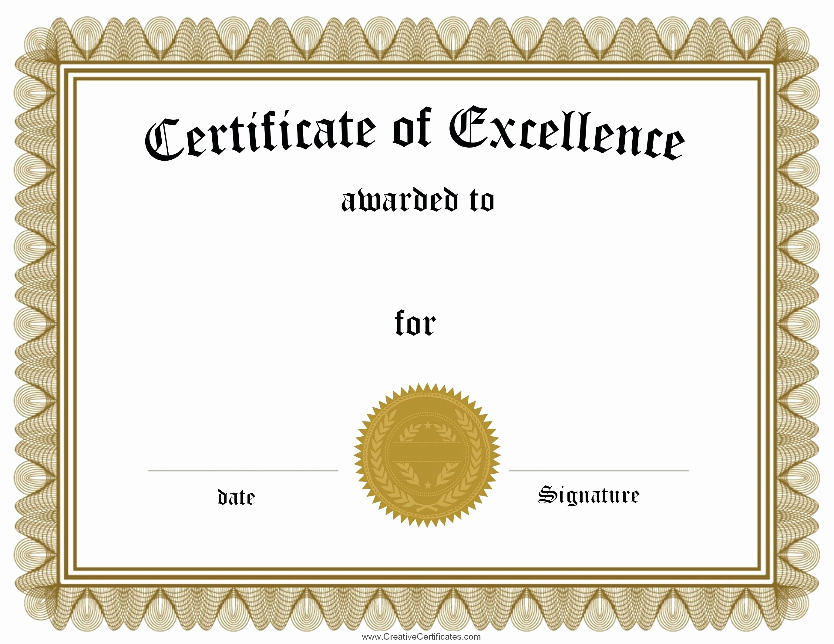 Certificate Of Excellence for Employee Beautiful Template Template for Employee the Month