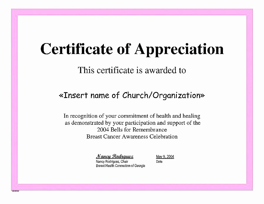 Certificate Of Excellence for Employee Fresh Employee Appreciation Certificate Template Free