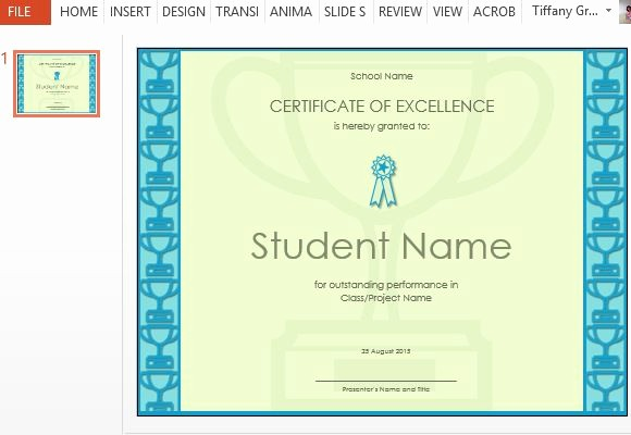 Certificate Of Excellence for Employee Fresh How to Make A Printable Excellence Certificate