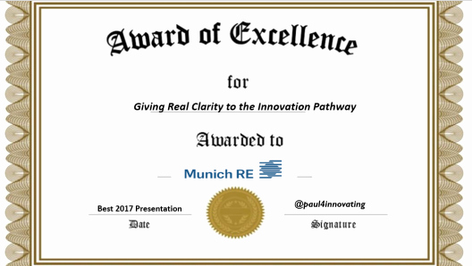 Certificate Of Excellence for Students Unique Paul4innovating S Innovation Views