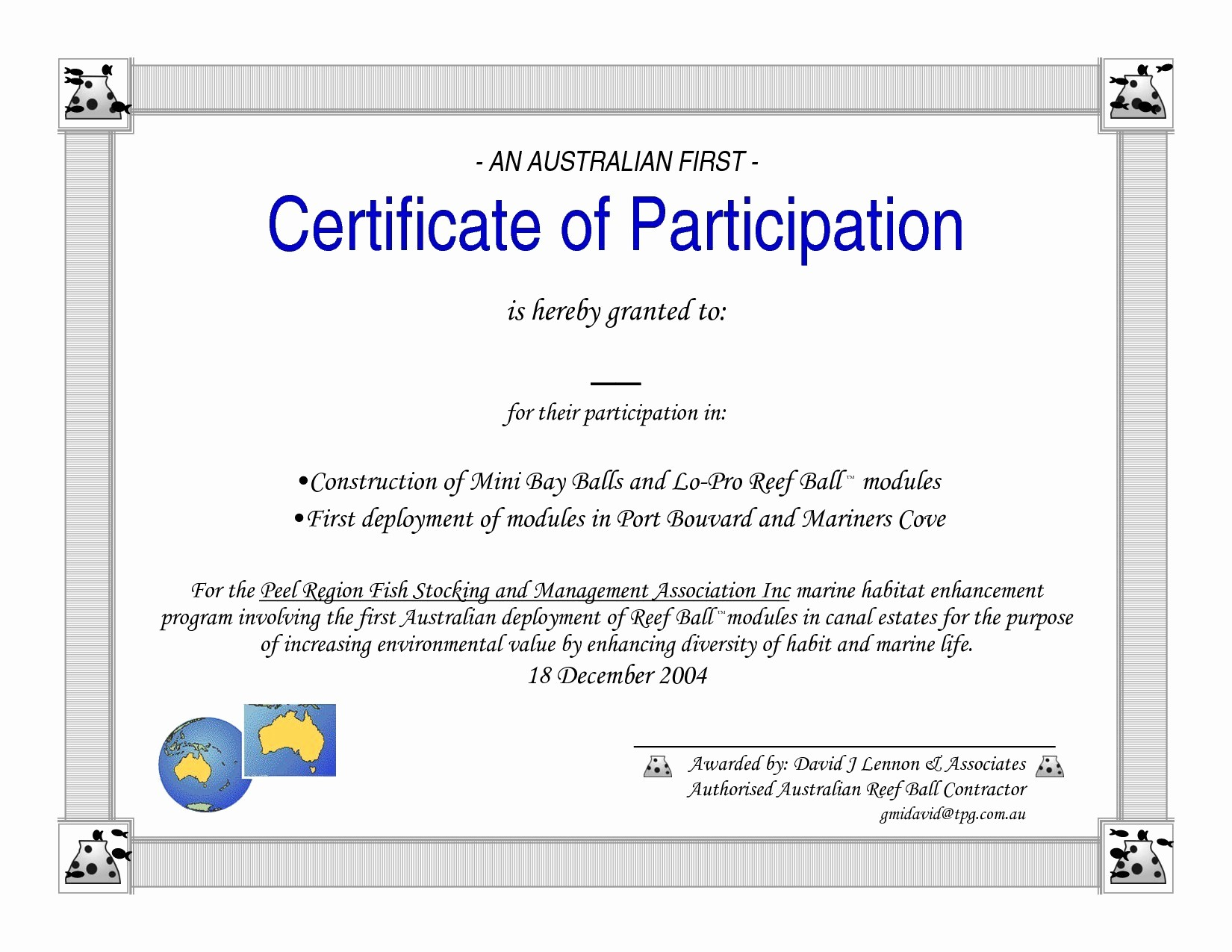Certificate Of Participation Wording Samples Best Of Template for Certificate Participation Training