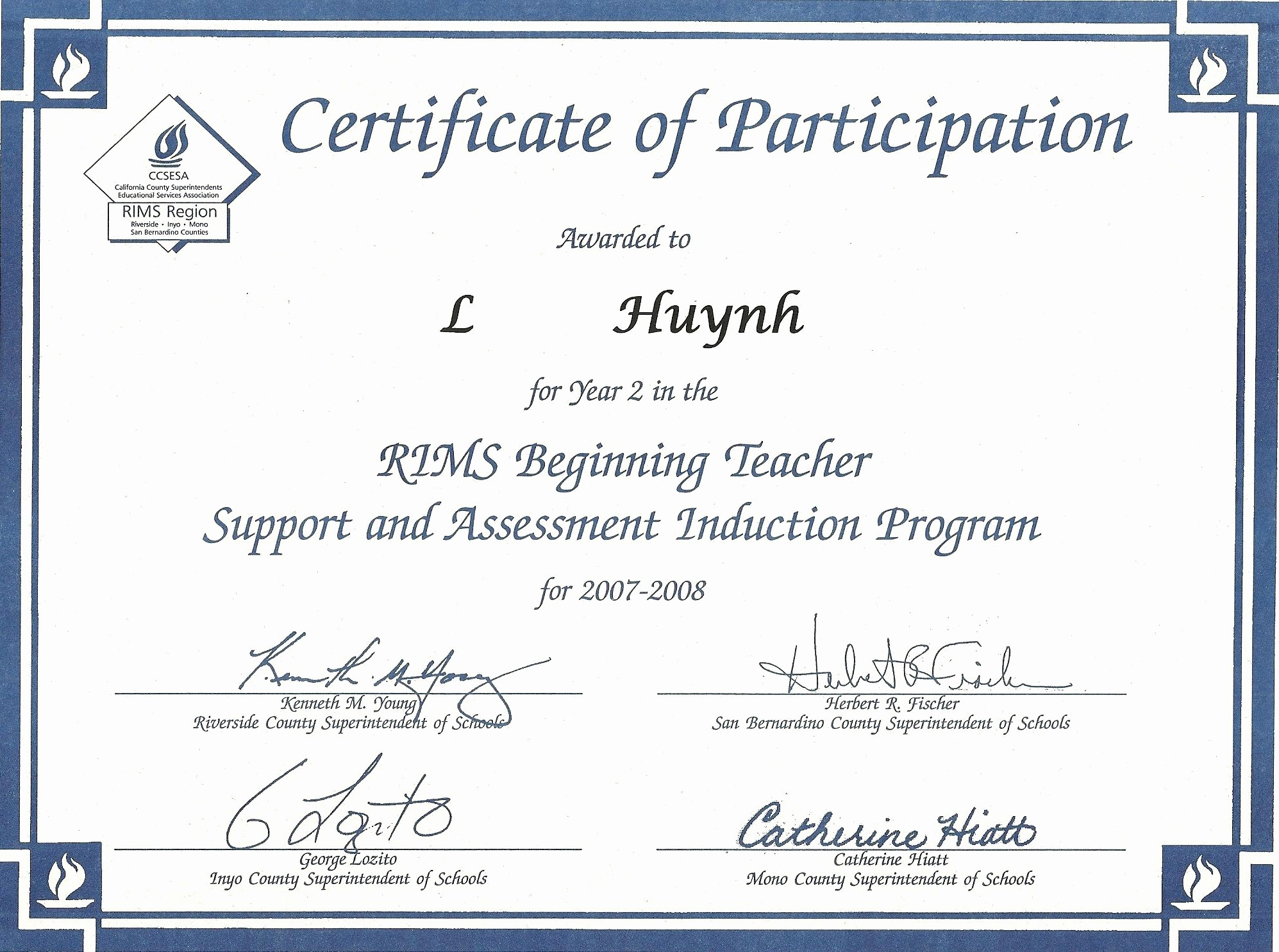 Certificate Of Participation Wording Samples Elegant Certificates