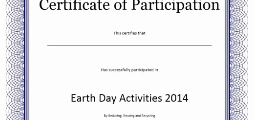 Certificate Of Participation Wording Samples Inspirational 10 Free Sample No Objection Certificate Templates