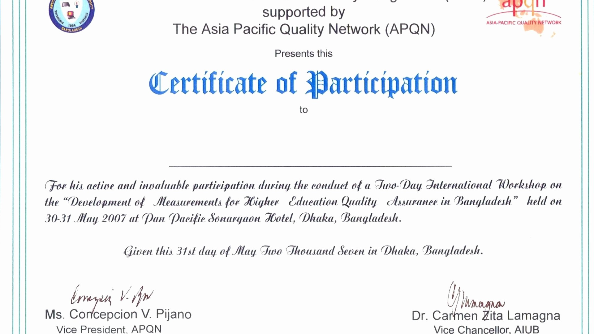 Certificate Of Participation Wording Samples Inspirational Certificate Participation Sample Content Fresh