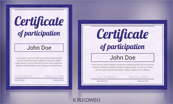 Certificate Of Participation Wording Samples Lovely 19 Sample Participation Certificates
