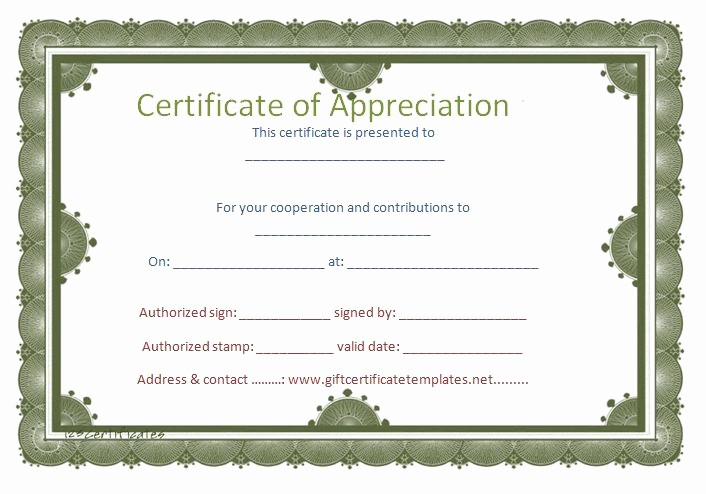 Certificate Of Recognition Editable Template Beautiful 37 Best Images About Certificate Of Appreciation Templates
