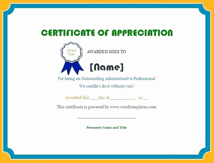 Certificate Of Recognition Editable Template Fresh Certificate Recognition Template Word Editable Free