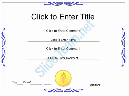 Certificate Of Recognition for Kids Awesome Award Recognition Diploma Certificate Template Of
