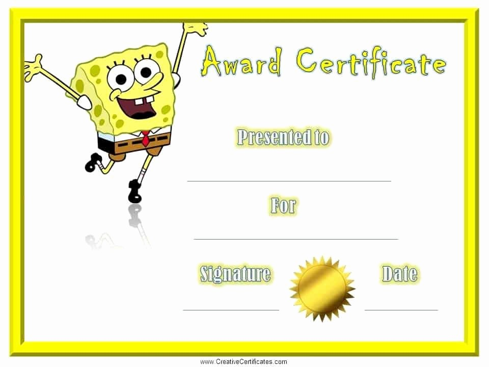 Certificate Of Recognition for Kids Awesome Certificates for Kids Free and Customizable Instant