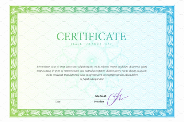 Certificate Of Training Template Word Best Of 30 Training Certificate Templates Free Word Pdf Ppt
