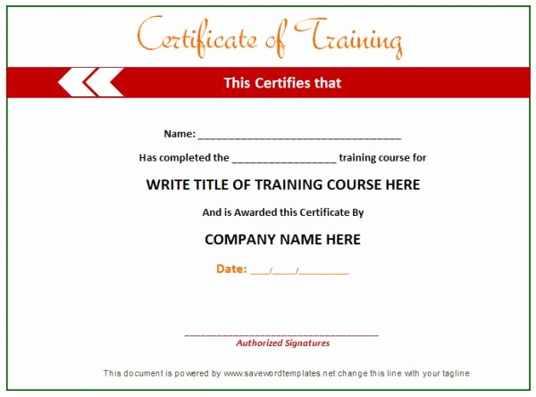 Certificate Of Training Template Word Luxury 12 Best Gift Certificate Template Images On Pinterest