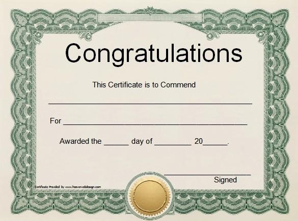 Certificate Of Training Template Word Luxury Word Certificate Template 49 Free Download Samples