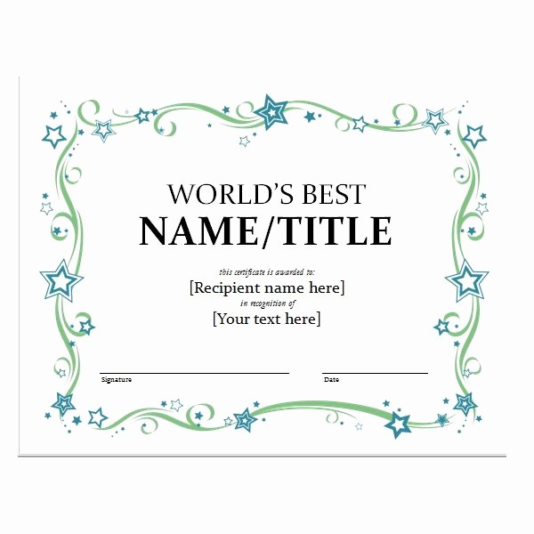 Certificate Templates for Microsoft Word Inspirational How to Create Certificates with Microsoft Word Microsoft