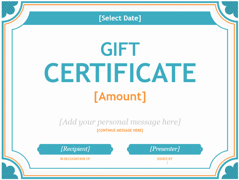 Certificate Templates for Microsoft Word Lovely 173 Free Gift Certificate Templates You Can Customize