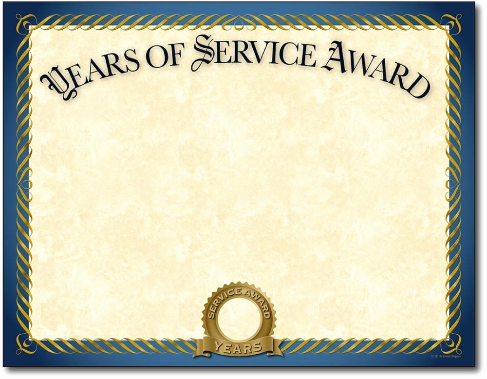 Certificates for Years Of Service Fresh Years Of Service Certificates