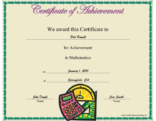 Certificates Of Achievement for Students Fresh 17 Best Images About Student Achievement Awards On