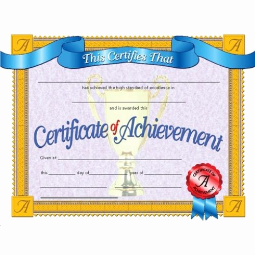 Certificates Of Achievement for Students Inspirational 67 Best Images About Awards & Recognition On Pinterest