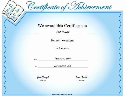 Certificates Of Achievement for Students Unique 1000 Images About Student Achievement Awards On Pinterest