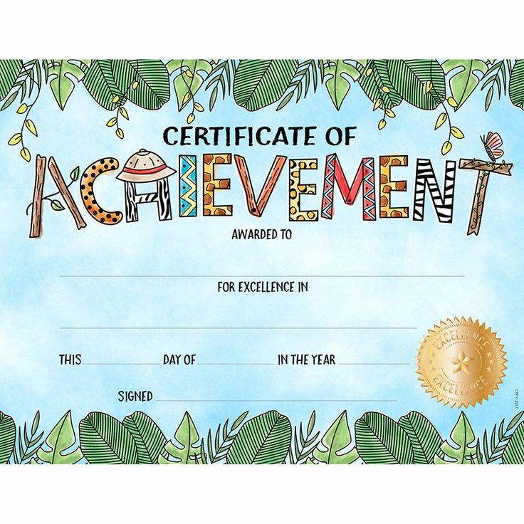 Certificates Of Achievement for Students Unique 17 Best Ideas About Student Awards On Pinterest
