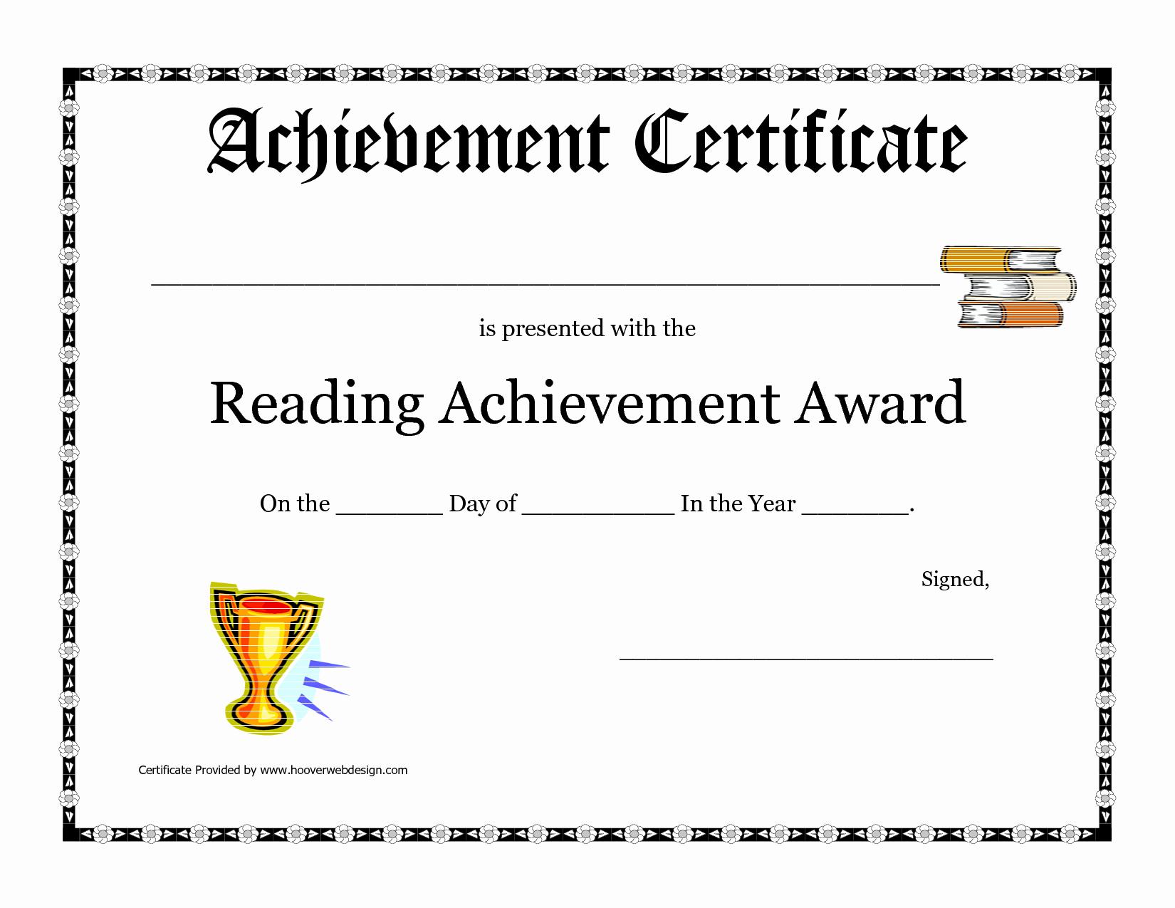 Certificates Of Achievement Templates Free Beautiful Printable Achievement Certificates Portablegasgrillweber