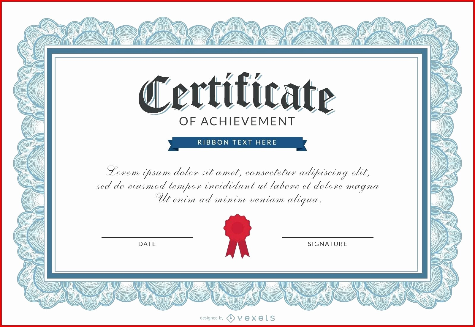 Certificates Of Achievement Templates Free Beautiful Template Printable Achievement Certificate Template