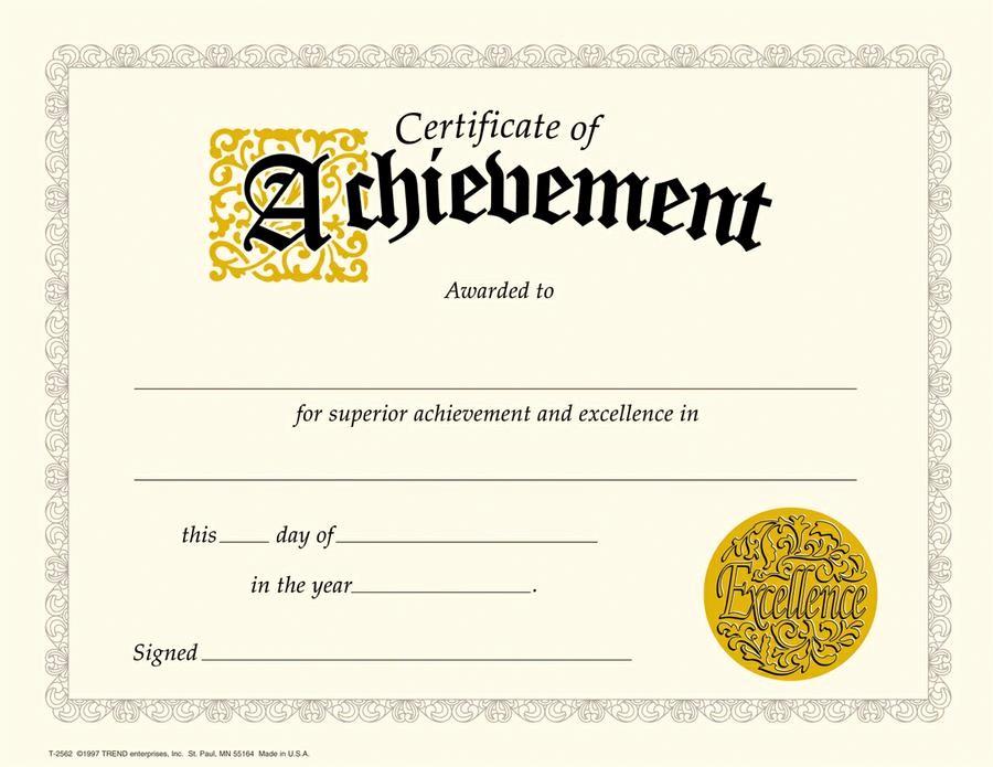 Certificates Of Achievement Templates Free Elegant Certificates Of Achievement Borders