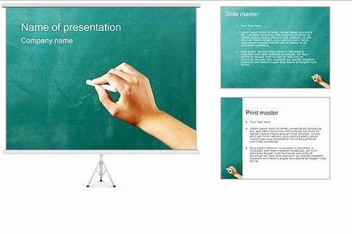 Chalkboard Powerpoint Template Free Download Beautiful Presentation Template Powerpoint Free Beautiful Template