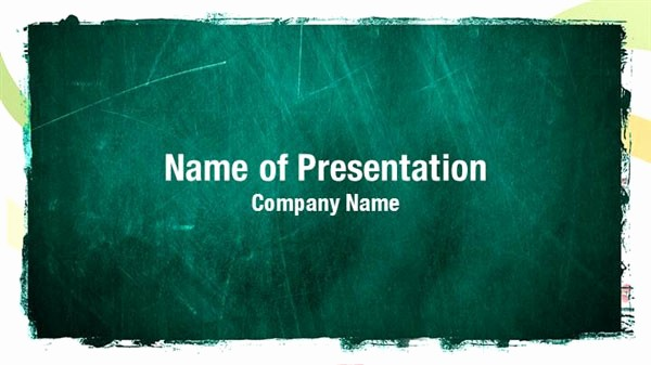 Chalkboard Powerpoint Template Free Download Best Of Chalkboard Powerpoint Templates Chalkboard Powerpoint