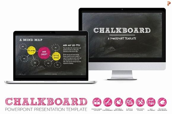 Chalkboard Powerpoint Template Free Download Luxury Chalkboard Ppt Presentation Template Presentation
