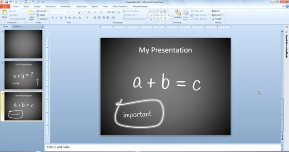 Chalkboard Powerpoint Template Free Download Luxury How to Create A Simple Powerpoint Blackboard Presentation