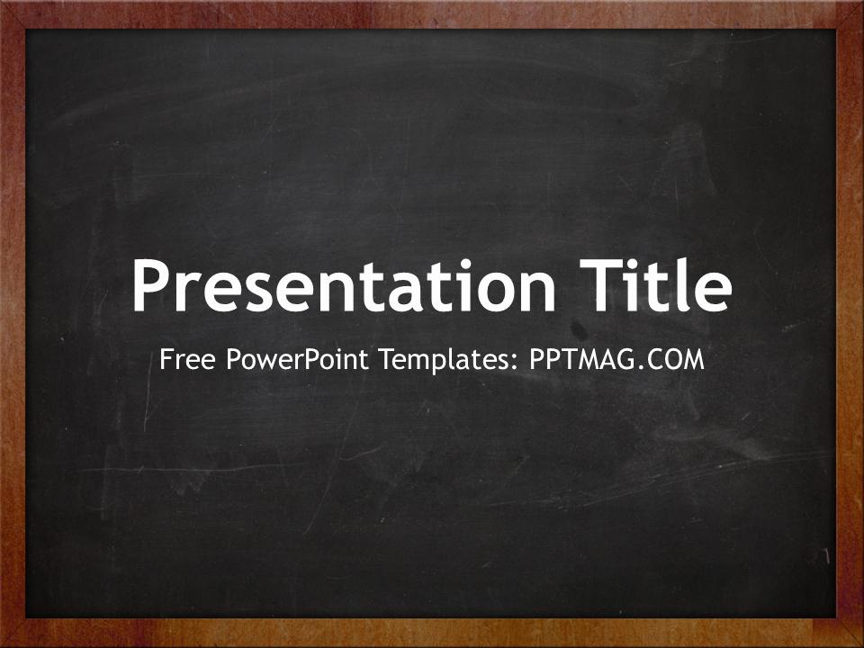 Chalkboard Powerpoint Template Free Download New Chalkboard Powerpoint Background