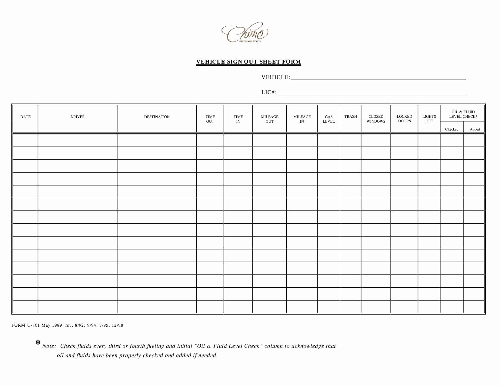 Check In and Out Template Fresh Inventory Check Out Sheet Template Templates Station