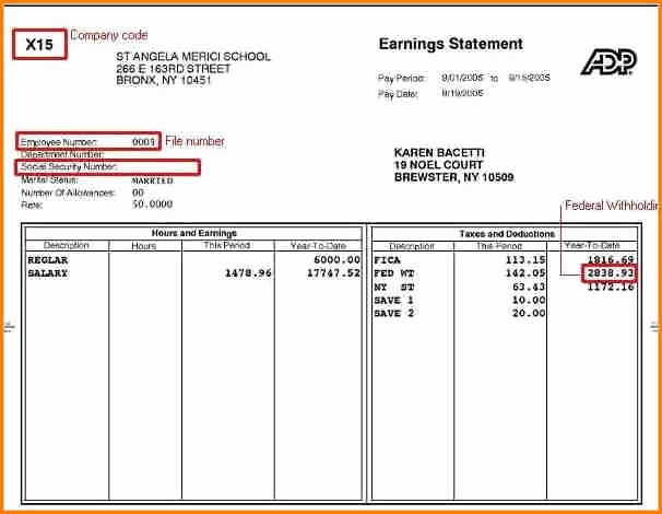 Check Stub Template for Excel New 6 Free Pay Stub Template Excel