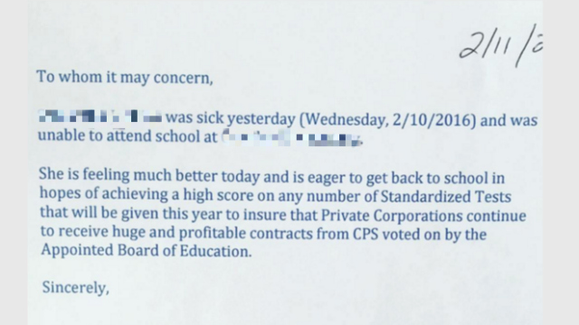 Child Absent From School Letter Beautiful Cps Dad Pens Sarcastic Absence Letter for Child Cbs Chicago