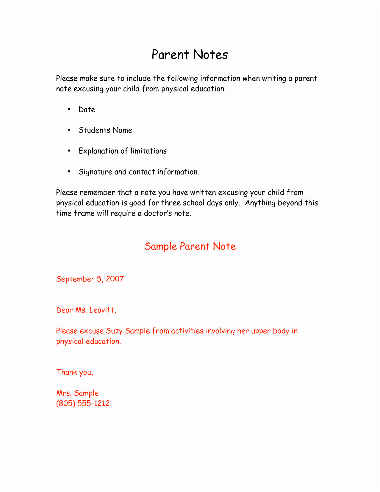 Child Absent From School Letter Inspirational 10 Dr Excuse Templateagenda Template Sample