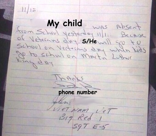 Child Absent From School Letter New Sample Excuse Letter for Being Absent In School Due to
