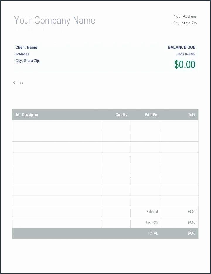 Child Care Receipt Template Excel Elegant Daycare Receipt Fee Receipt Template Daycare Invoice Free