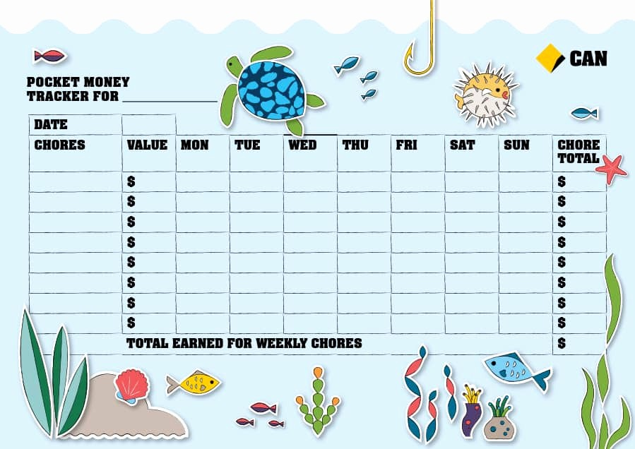 Chore Chart Template Free Download Best Of 43 Free Chore Chart Templates for Kids Template Lab