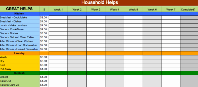 Chore Chart Template Google Docs Fresh 24 Google Docs Templates that Will Make Your Life Easier