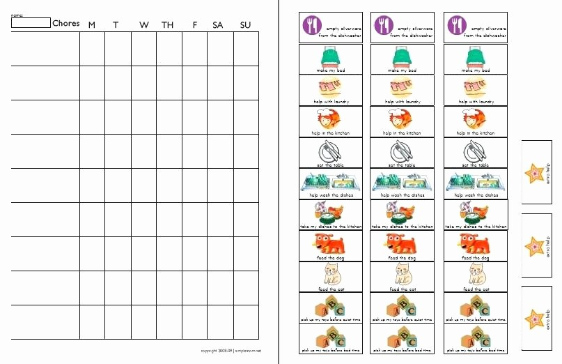 Chore Chart Template Google Docs Lovely Family Chart Template 5 Generation Blank Tree Excel Weekly
