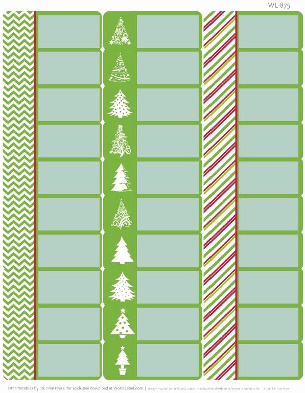 Christmas Address Label Template Free Beautiful 1000 Images About Address Labels On Pinterest