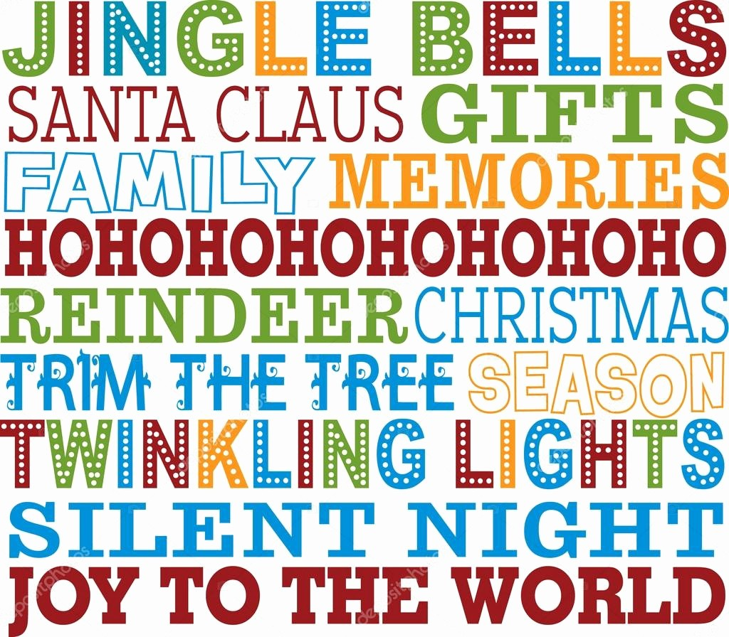 Christmas Background Images for Word Awesome Christmas Word Art Background — Stock Vector © Dreamit08