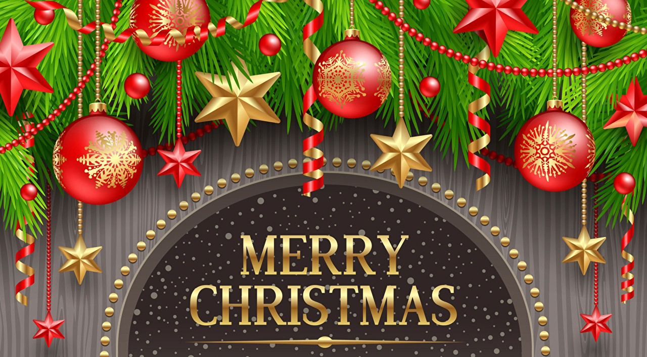 Christmas Background Images for Word Fresh New Year Merry Christmas Word Lettering Balls Holidays
