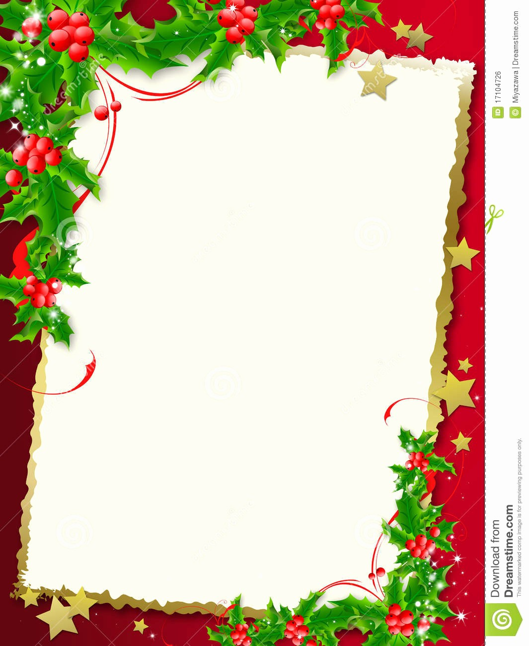 Christmas Background Images for Word Lovely Christmas Menu Borders Templates – Festival Collections