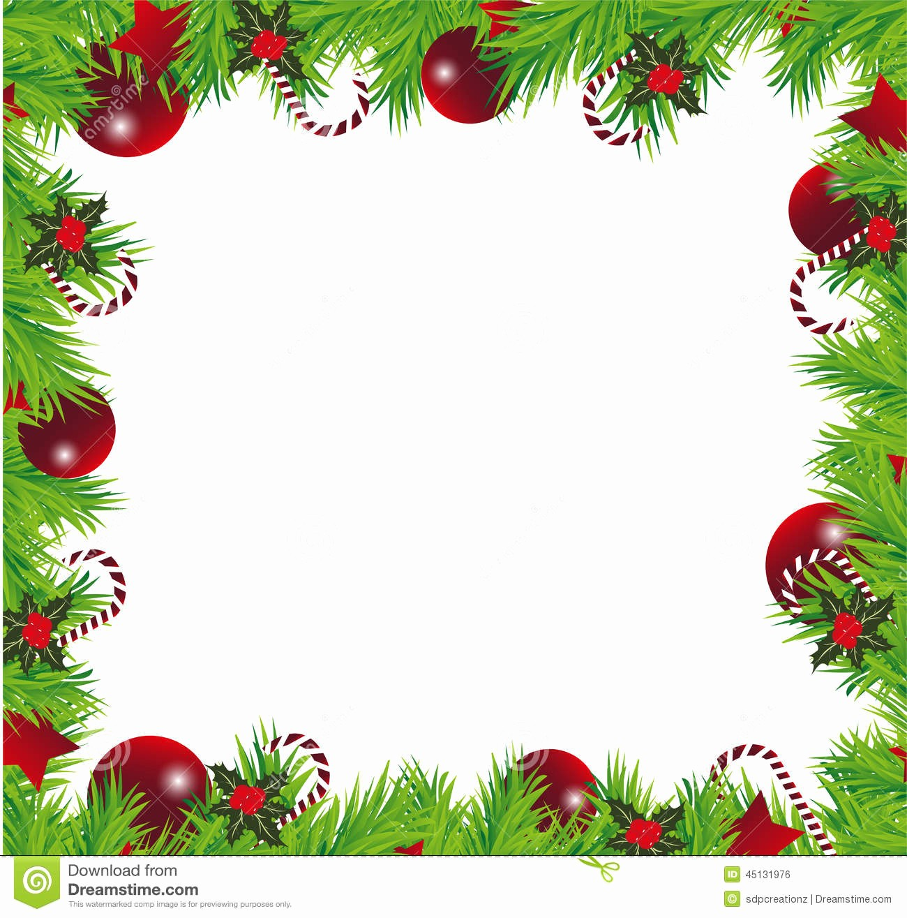 Christmas Background Images for Word Luxury Christmas Frame Stock Illustration Image