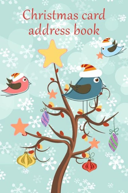 Christmas Card List Address Book Awesome Christmas Card Address Book An Address Book and Tracker