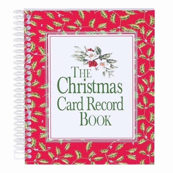 Christmas Card List Address Book Awesome Christmas Card Address Book