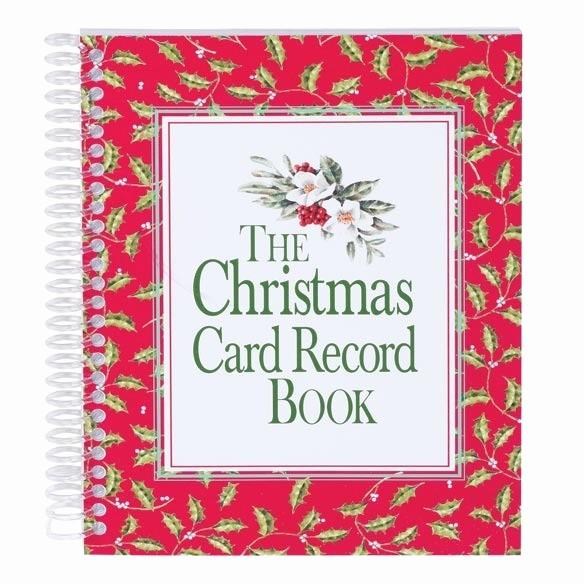 Christmas Card List Address Book Awesome Christmas Card Address Book